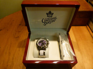 Toronto Maple Leafs Limited Edition Centennial Collector Watch