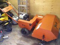 York power sweeper / broom / rake