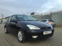 Ford Focus ghia black full leather