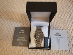 Orient Sentinel 40.5mm Automatic Watch #AC05002D Blue Dial