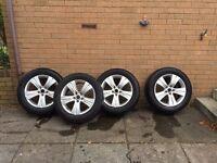 Kia Sportage 17 inch Alloy Wheels
