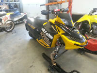 "2012 Skidoo MXZ 800 XRS etec 121"", trade for ATV or street bike"