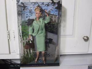 "2008 Barbie Doll Collector Alfred Hitchcock's ""The Birds""--MINT"