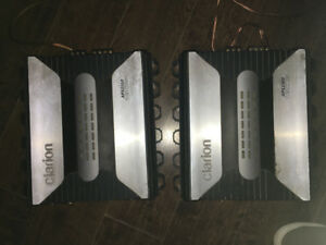 Clarion APX 2180 car amps