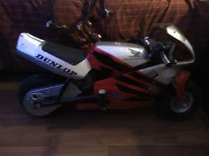 Honda electric pocket bike
