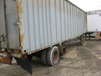 Van Trailers // Storage Containers
