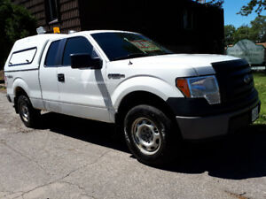 2011 FORD F-150 XL 4x4 WITH UNICOVER FOR SALE