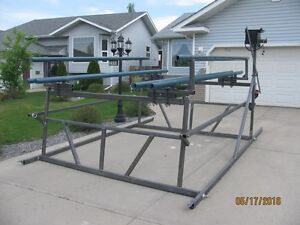 """""""BRAND NEW"""" CANTILEVER PONTOON BOAT LIFTS Prince George British Columbia image 4"""
