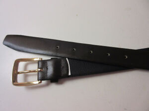 New Size 36 leather belt (never used), made in Canada