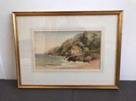 Original Water Colour Seascape Painting