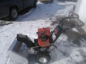 Snowblower 8 hp 25 cut 275.00