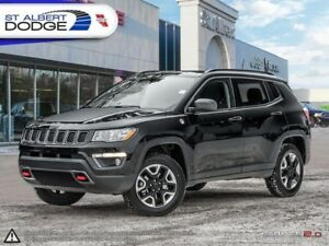 2018 Jeep Compass Trailhawk  WARRANTY REMAINING| AWD| BLUETOOTH|