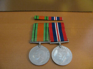 WW2 BRITISH MEDALS