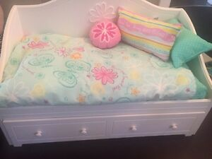 American Girl Doll Trundle Day Bed