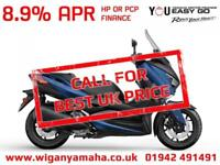 YAMAHA XMAX 300 ABS. 2018 MODEL IN PHANTOM BLUE, SONIC GREY OR BLAZING GREY...