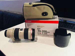Objectif Canon EF 70-200mm f/2.8L IS USM