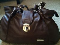 Claudia Canova Chocolate Brown Handbag