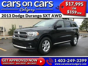 2013 Dodge Durango SXT AWD w/BlueTooth, USB Connect, Satellite R