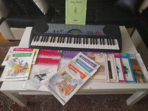 CTK-471 Digital Keyboard with learning books and stand