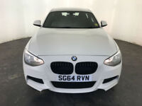 2014 64 BMW 116D M SPORT DIESEL 3 DOOR HATCHBACK 1 OWNER BMW HISTORY FINANCE PX