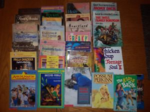 Books, youth (middle school)