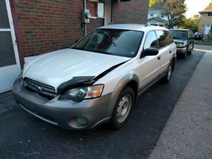 2005 Subaru Outback 2.5i WG AWD - Scrap or Repair