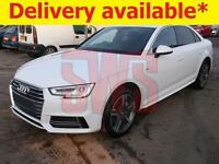 2017 Audi A4 2.0 TDi Quattro S-Line s-tronic Saloon 190PS DAMAGED ON DELIVERY