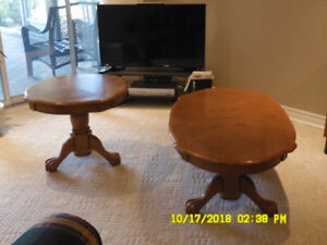 MATCHING COFFEE AND END TABLE