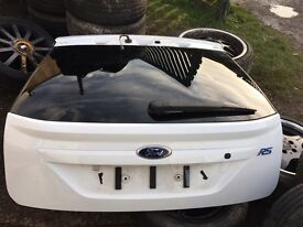 Ford Focus RS frozen white Tailgate boot lid