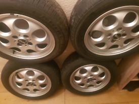 Mini one wheels