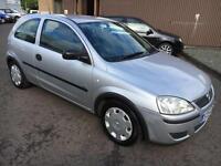5404 Vauxhall Corsa 1.3CDTi 16v Life Silver 3 Door 53065mls MOT 12m