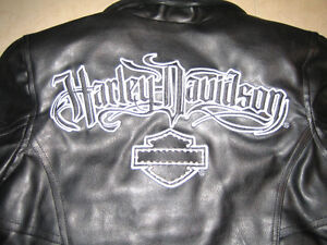 YOUTH HARLEY DAVIDSON MOTORCYCLE JACKET