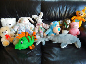 Need to find a home for lonely Stuffed Animals at my house!