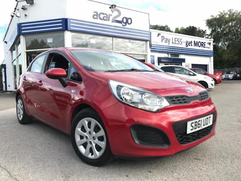 2012 Kia RIO 1 Manual Hatchback