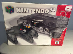 Funtastic Smoke Grey N64 - CIB