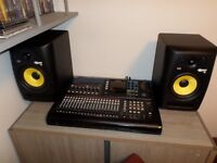 Tascam dp 32 and monitors