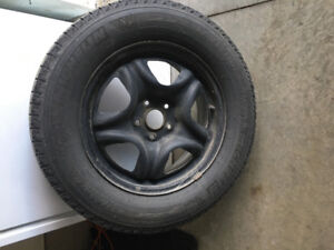 Michelin winter tires - lattitude x-ice - used two seasons