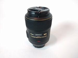 Nikon 105mm AF-S VR Micro f/2.8 Lens