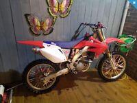 HONDA CR250F not KX CR RM KTM YZ