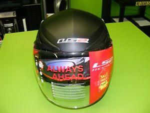 3/4 Helmet with Sunvisor - Matte or Gloss Black at RE-GEAR Kingston Kingston Area image 5