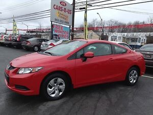 2013 Honda Civic LX, LOW KMS, HEATED SEATS!!