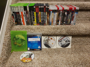 Xbox, 360, PS2 and PS3 Games