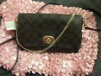 Crossbody and shoulder bag authentic coach bag