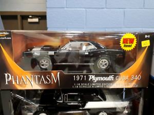 American Muscle Phantasm movie car 1971 Cuda 1:18 diecast