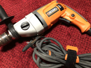 8 Amp 1/2 in. Heavy-Duty Variable Speed Reversible Hammer Drill.