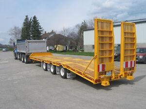 New 2017 Float King 35 ton tag a long paver