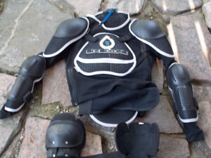 motorcycle boots and sixsixsone pads
