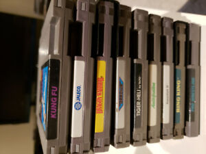 NES Games lot of 9