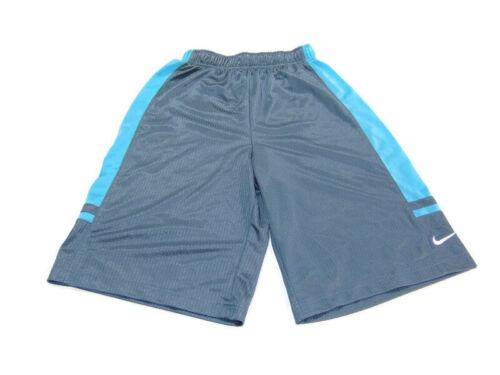 Nike Shorts Gray Blue Franchise 10 inch Basketball Training Running Boys Size L