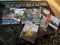Sault College Early Childhood Education Textbooks for sale.
